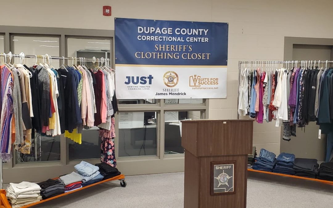 Sheriff James Mendrick Welcomes Clothing Closet Expansion For Female Inmates
